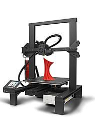 Недорогие -Более длинный 3D принтер LK4 DIY с новым дизайном алюминиевой рамой / объем сборки 220 * 220 * 250 мм / 2,8-дюймовый смарт-сенсорный экран