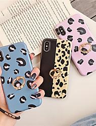 Недорогие -чехол для яблока iphone xs / iphone xr / iphone xs держатель макс. кольца / выкройка линий задней крышки / волны тпу для iphone 6 6 плюс 6s 6s плюс 7 8 7 плюс 8 плюс x xs