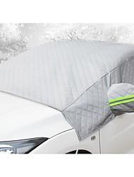 Недорогие -переднее ветровое стекло автомобиля антифриз крышка от замерзания и утолщение снега половина кузова автомобильная одежда половина покрытия
