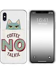 billige -taske til iphone x xs max xr xs bag sag blød cover tpu kreativt mønster tegneserie kat blød tpu til iphone5 5s se 6 6p 6s sp 7 7p 8 8p16 * 8 * 1