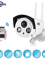 Недорогие -Hiseeu Wi-Fi камера открытый пуля HD 720 P IP-камера водонепроницаемый беспроводной видеомагнитофон