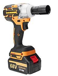 Недорогие -Электрический ударный гайковерт 68 В 6000 мАч / 8000 мАч аккумуляторный с 2 аккумуляторными батареями