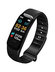 Недорогие -Indear C2 Мужчина женщина Умный браслет Android iOS Bluetooth Водонепроницаемый Сенсорный экран Пульсомер Измерение кровяного давления Спорт