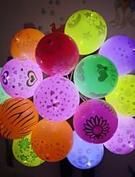 Недорогие -Светодиодные воздушные шары флеш светящиеся лампы фонарь бар день рождения свадьба украшение бумажный фонарь воздушный шар