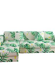 Недорогие -Накидка на диван Растения / Классика / Современный стиль Активный краситель Полиэстер Чехол с функцией перевода в режим сна