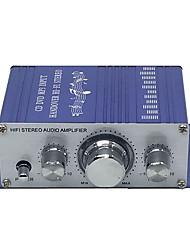 Недорогие -12v 2ch мини Hi-Fi стерео аудио маленький усилитель усилитель для автомобиля мотоцикл радио mp3
