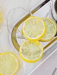 Недорогие -3 м творческий лимон фея гирлянда 20 светодиодов желтое рождество благодарение хэллоуин украшения партии а.