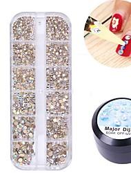 billige -akrylpulver skinnende glitter neglekunst dekoration akryl negle kit