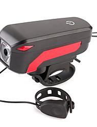Недорогие -Велосипедные фары Велосипедная фара с сигналом Горные велосипеды Велоспорт Велоспорт Водонепроницаемый Несколько режимов Супер яркий Безопасность Литий-ионная 100 lm Перезаряжаемый USB Белый