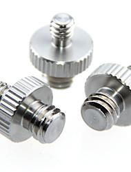 Недорогие -camvate 1 / 4маленький к 3 / 8маленький двусторонний винтовой адаптер (3 шт) c1228