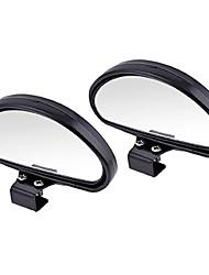 Недорогие -Универсальная автомобильная слепая зона задняя сторона широкоугольный зеркало заднего вида для автомобиля внедорожник грузовик мотоцикл