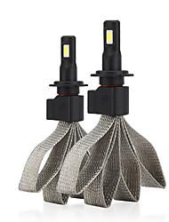 Недорогие -2 шт. H7 фар автомобиля s7 светодиодные лампы замена лампы автомобиля сигнал освещения лампы универсального применения