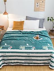 Недорогие -Одеяла, Цветочный принт / С принтом Полиэстер удобный одеяла