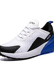 Недорогие -Муж. Комфортная обувь Tissage Volant Лето / Осень Спортивные / На каждый день Спортивная обувь Беговая обувь Дышащий Черный / Черно-белый / Белый
