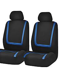 Недорогие -универсальная автомобильная накидка на сиденье из полиэстера ткань автомобильная накидка на сиденье протектор сиденья аксессуары для интерьера 4шт