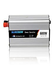 Недорогие -suredom инвертор 600 Вт инвертор с USB-портами автомобильный инвертор DC12V / 24V в AC110V / 220V домашнего использования мини-инвертор