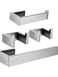 Недорогие -держатель для туалетной бумаги / вешалка для полотенец / набор аксессуаров для ванной комнаты creative / new design fun&усилитель; причудливый / современный металл / из нержавеющей стали / из