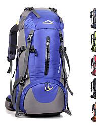 Недорогие -50 L Рюкзаки Заплечный рюкзак Дышащие ремни - Водонепроницаемость Дышащий Ударопрочность Офис На открытом воздухе Отдых и Туризм Восхождение Спорт в свободное время Оксфорд / Да