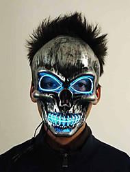 Недорогие -Brelong Хэллоуин ужас маска черный кровавый триллер головы светящиеся маски светодиодные выпускного вечера Хэллоуин страшные маски игрушки лучший подарок