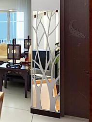 Недорогие -Декоративные наклейки на стены - Зеркальные стикеры Геометрия Гостиная / В помещении