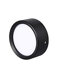 Недорогие -Цилиндр Прожектор Окрашенные отделки Металл LED 110-120Вольт / 220-240Вольт Теплый белый / Белый / Холодный белый