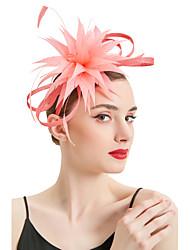 Недорогие -Жен. Для вечеринки Классический Симпатичные Стиль Панама Шляпа от солнца Солома,Однотонный Цветы Розовый