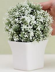 Недорогие -Искусственные Цветы 1 Филиал Классический европейский Вечные цветы Ваза Букеты на стол