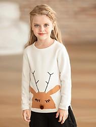 povoljno -Djeca Djevojčice Osnovni Print Dugih rukava Bluza Obala