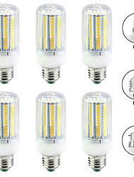 Недорогие -6шт 20 W LED лампы типа Корн 2000 lm E14 B22 E26 / E27 T 144 Светодиодные бусины SMD 5730 Новый дизайн Тёплый белый Белый 220-240 V 110-120 V
