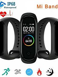 Недорогие -08777 Мужчина женщина Умный браслет Android iOS Bluetooth Сенсорный экран Smart Педометр Сидячий Напоминание Секундомер