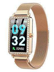 Недорогие -Смарт Часы Цифровой Современный Спортивные 30 m Защита от влаги Пульсомер Bluetooth Цифровой На каждый день На открытом воздухе - Золотой Серебряный Синий