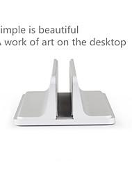 Недорогие -подставка для книжного шкафа из алюминиевого сплава вертикальная подставка для ноутбука