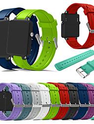 Недорогие -ремешок для часов новая мода спорт силиконовый браслет ремешок ремешок для garmin vivoactive ацетат смарт-ремешок для часов аксессуары