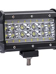 Недорогие -280 Вт светодиодные 4 ряда 5inch 28000lm рабочий свет бар лампа вождения цветовая температура6000k пакет1шт