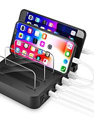 Недорогие -4 порта 60 Вт Pd QC USB зарядное устройство Plug сотовый телефон зарядная станция аксессуары для мобильных телефонов для смартфона