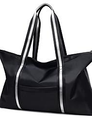 povoljno -Vodootporno Patent-zatvarač Putna torbica Jedna barva Jedna barva Oxford tkanje Vježbanje Crn / Crvena