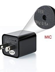 Недорогие -Зарядное устройство USB 1080p камера обнаружения движения мини DVR видеорегистратор 8-32 ГБ объем памяти 8 ГБ