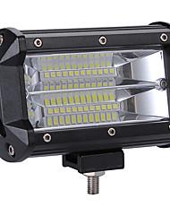 Недорогие -Высокая мощность 240 Вт светодиодные 2 ряда 5-дюймовый рабочий свет бар лампа вождения цветовая температура 6000 К пакет 1 шт.