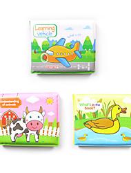 Недорогие -Игрушки для купания Поезд Самолёт Автобус Rabbit Транспорт Цыпленок Очаровательный Взаимодействие родителей и детей PEVA Детские Дети Все Игрушки Подарок