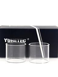 Недорогие -Замена стеклянной трубки yuhetec для расходомера wotofo 4 мл 2шт
