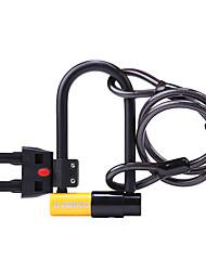 Недорогие -Кабельный велозамок U-образный велосипедный замок Компактность Мощность Очень длинный Защитный Блокировка безопасности Назначение