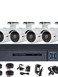 Недорогие -8ch AHD монитор установлен 1080p 2.0mp инфракрасного ночного видения HD-камера DVR установить монитор магазин монитор