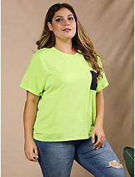 povoljno -Majica s rukavima Žene Dnevno Grafika Djetelina