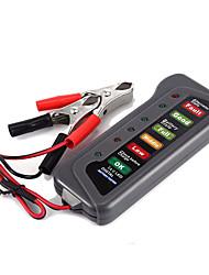 Недорогие -автомобильный мотоцикл цифровой аккумулятор тестер нагрузки генератора 12 В автомобиля 6 светодиодный дисплей