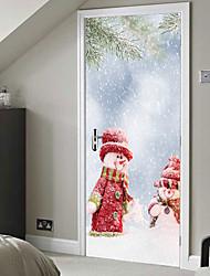 Недорогие -новогоднее украшение Creative дверная паста декоративная настенная паста - плоская настенная новогодняя игрушка (размер 38,5 * 200 см * 2 штуки)