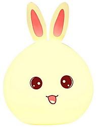 Недорогие -1 шт. Привело милый кролик ночь свет изменение цвета USB творческий<=36 v