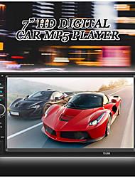 Недорогие -SWM 7018B 7 дюймов 2 DIN автомобильный MP5-плеер HD сенсорный экран стерео радио автомобильная аудиосистема мультимедиа mp3 FM USB Bluetooth с камерой заднего вида