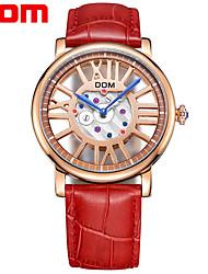 Недорогие -Жен. Спортивные часы Мода Красный Натуральная кожа Японский Японский кварц Красный Компас 30 m 1 комплект Аналого-цифровые Два года Срок службы батареи