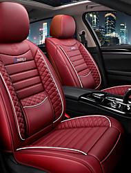 Недорогие -автомобильные подушки сиденья кожаные чехлы на автокресла четыре сезона общий стиль