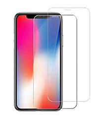 Недорогие -защитная пленка для экрана apple iphone 11 pro max / xs max / xr / x / 8 7 6s 6 plus / 5 высокой четкости (hd) Защитная пленка для экрана 2 шт. закаленное стекло